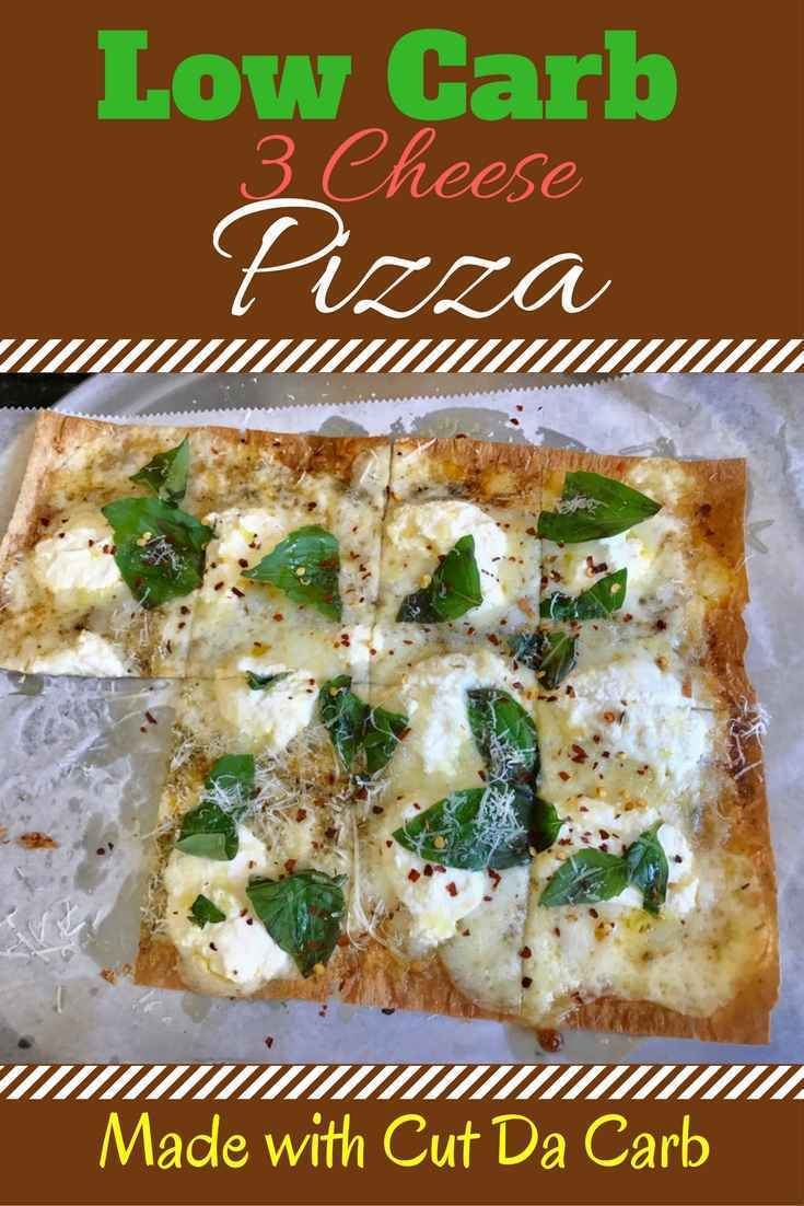 Low Carb 3 cheese Pizza
